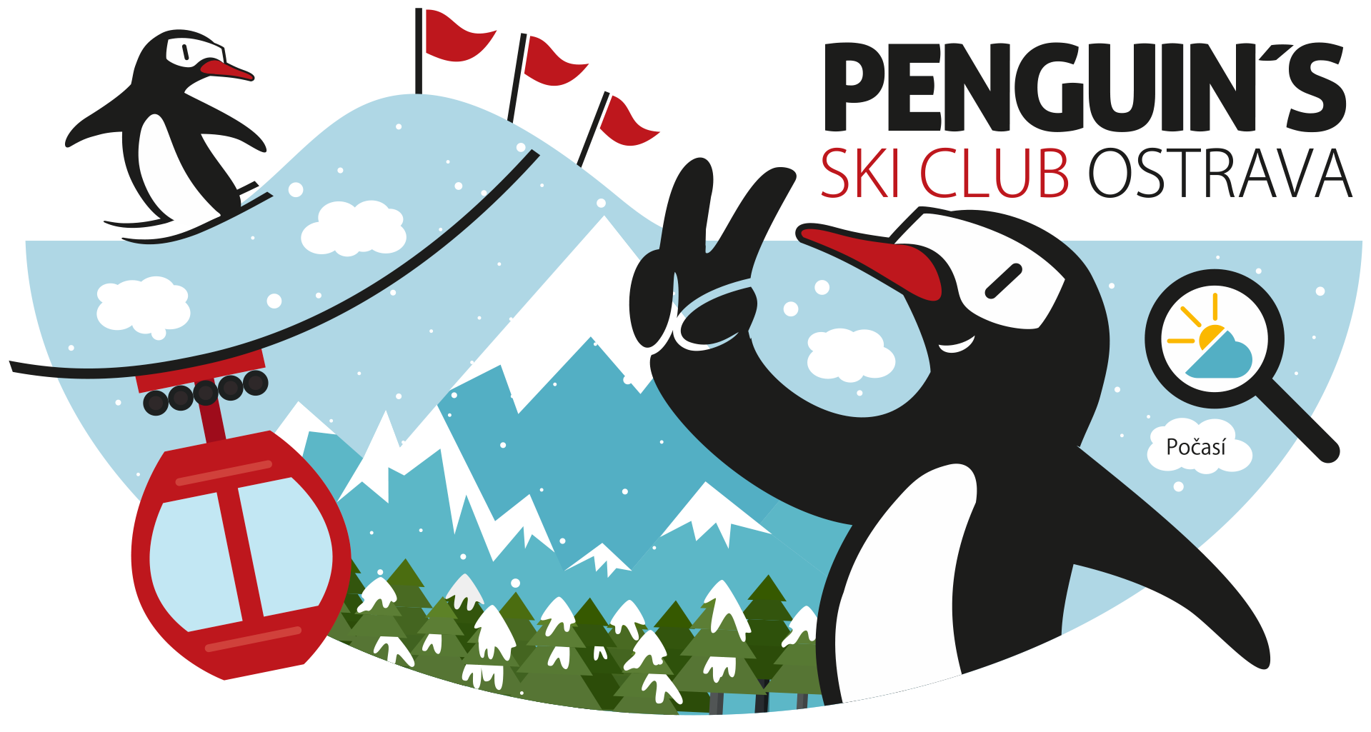 Penguin's Ski Club header image